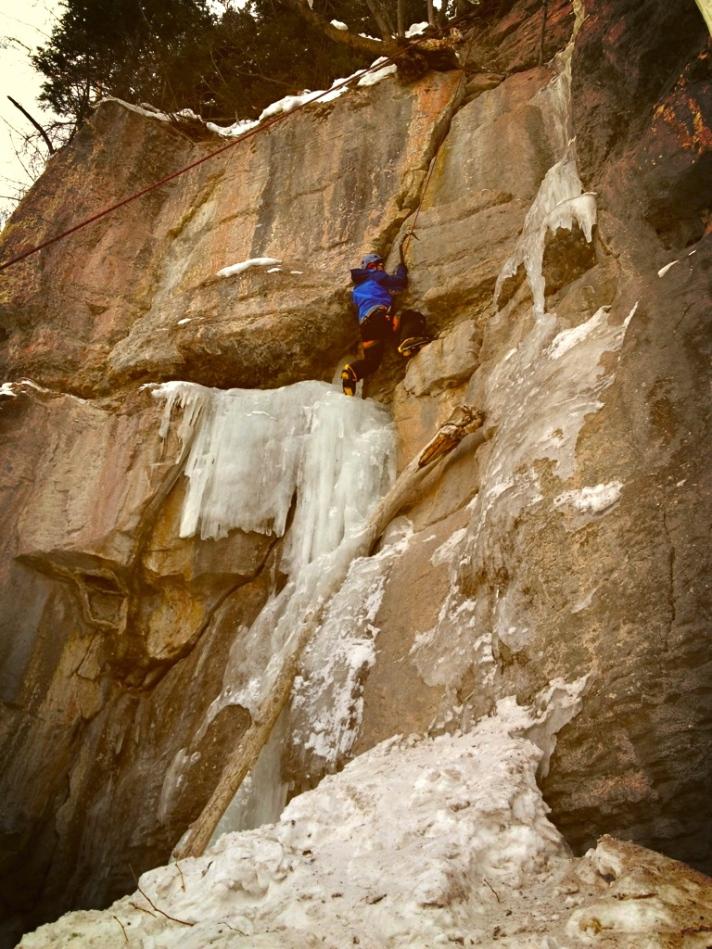 Vail Mixed Climb